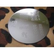 Konad Stamping Nail Art Image Plate M71