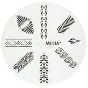 Design Wheel - Egyptian Nail Master Stencil Shield
