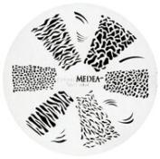 Design Wheel - Jungle Print Nail Master Stencil Shield