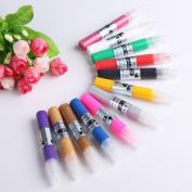 Yesurprise 12 Colours Diy 3D Nail Art Painting Polish Pen Set