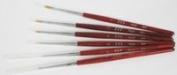 Golden Nail Art Brush Kit - 6pc