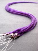 45.7cm Purple Micro Loop Ring Human Hair Extensions 10 Strands With Bonus
