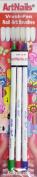 Art Nails 3 Pc Vrush Pen Striper Set