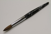 Ma Cherie Finest 100% Pure Kolinsky Brush, Size # 10, France, Black Marble Handle