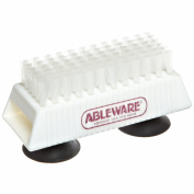 Ableware 753490211 Nail Brush with Suction Cup Base