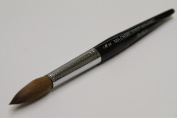 Ma Cherie Finest 100% Pure Kolinsky Brush, Size # 22, France, Black Marble Handle