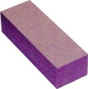 Nail Buffer Block 12 Pcs - white/purple