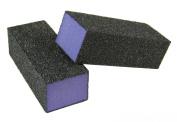 Purple Pedicure Block X-Coarse 60 Grit 8.3cm (4-Way) 12 Pack