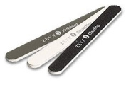 Zeva Nail Buffing File Replacement Set. Includes #1 Cleaning File, #2 Smoothing File and #3 Finishing File.