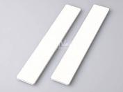 Jumbo Professional Nail File Square White 80/80 50 Nail Files Size 17.8cm X 2.5cm