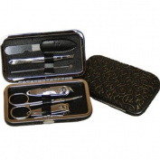 Nail Care Personal Manicure & Pedicure Set, Travel & Grooming Kit #696-1