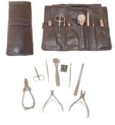Manicure/pedi-kit * 8 Pc With Bonus Skin Care Tool