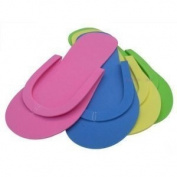 Footcandy Standard Pedicure Flip Flops 24-pair Party Pack