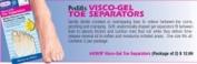 Visco-Gel Toe Separators