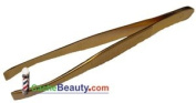 Simco Tweezer #5090 * Gold Plated * Toed-in Tip