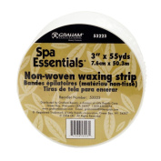 Graham Non-Woven Spa Essentials Hair Removal Waxing Roll Strips Depilatory Wax
