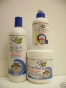 Combo Silicon Mix Proteina De Perla!!! Shampoo, Hair Treatment and Leave-in!!
