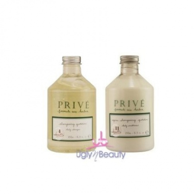 "Prive Daily Shampoo 250ml + Daily Conditioner 250ml ""Combo Set"""