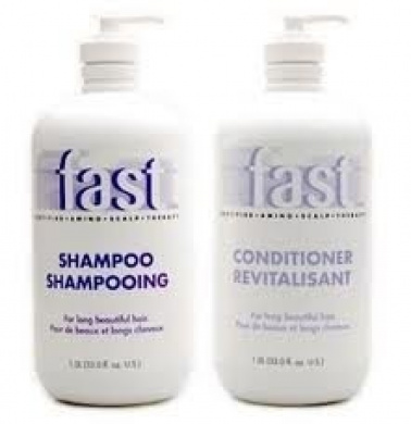 NISIM F.A.S.T. FAST Shampoo for Fast Hair Growth Shampoo & Conditioner 980ml each