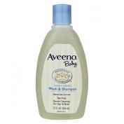 Aveeno Baby Lightly Scented Wash & Shampoo, 350ml