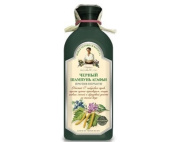 "Shampoo ""Black"" Dandruff with Birch Tar and Herbs for All Hair Types 350 Ml"