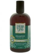 Aromaland - Shampoo for All Hair Types - Lemongrass & Sage 12 Oz