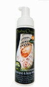Baby Organic Shampoo & Body Wash Unscented By Natures Paradise