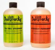 Dollylocks 350ml Rosemary Peppermint Liquid Dreadlock Shampoo