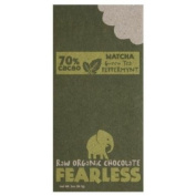 Fearless Chocolate Matcha Peppermint 70% Cacao