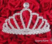 NEW HALLOWEEN COSTUME Wedding Prom Party Tiara Comb H32