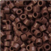 Professional Screw Microring 4mm Brown, 100 Pcs Screw Thread Micro Ring Locks for I Stick Tip Human Hair Extension Installation