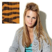Put On Pieces Clip-in Animal Print - Ginger Tiger