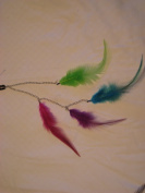Feathers Extensions with Chain Clip In 30cm