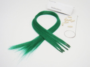 Beautiful Colour Hair Extensions New Generation Dark Green