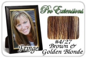 ProExtensions #4/27 Brown w/ Golden Highlights Pro Fringe Clip In Bangs