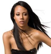 MilkyWay Saga Gold Remy 25cm Colour 1B 100% Human Hair Weave - Remy Yaky