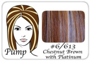 ProExtensions #6/613 Chestnut Brown w/ Platinum Pro Pump - Tease with Ease