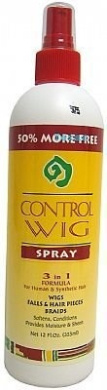 Control Wig Spray, 3-in-1 Formula by Universal Beauty Products - 3-in-1 Formula