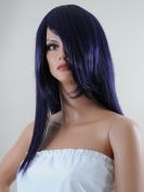Epic Cosplay Dionysus Shadow Purple Long Straight Versatile Anime Wig 60cm