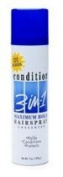 COND 3-IN-1 HR  Spray  MAX HLD UNS Size