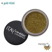 Itay Beauty Mineral cosmetic face and body glitter Colour Gold G06
