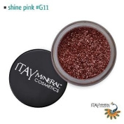 Itay Beauty Mineral cosmetic face and body glitter Colour Shiney Pink G11