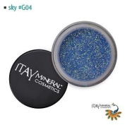 Itay Beauty Mineral cosmetic face and body glitter Colour Sky G04