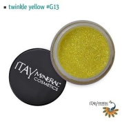 Itay Beauty Mineral cosmetic face and body glitter Colour Twinkle Yellow G13
