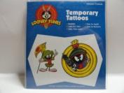 Body Prints Looney Tunes Temporary Tattoos - Marvin the Martian