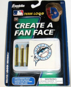 Florida Marlins MLB Create a Fan Face Tattoos and Face Crayons