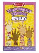 Melissa and Doug Temporary Tattoos - Jewellery