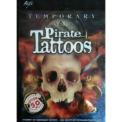 Over 50 Assorted Temporary Pirate Tattoos