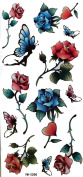 GGSELL Hot selling temporary tattoo sticker Beauty of roses
