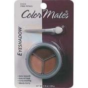 Colormates Pink Petals Eyeshadow Trio #61623 Pink & Brown